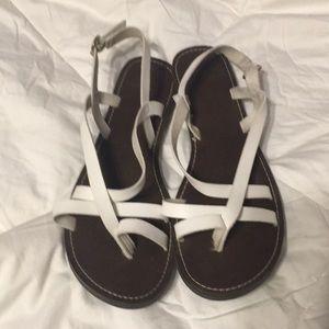 5a2c4ff073c Faded Glory Shoes - FADED GLORY Casual Toe Loop Flat Sandal